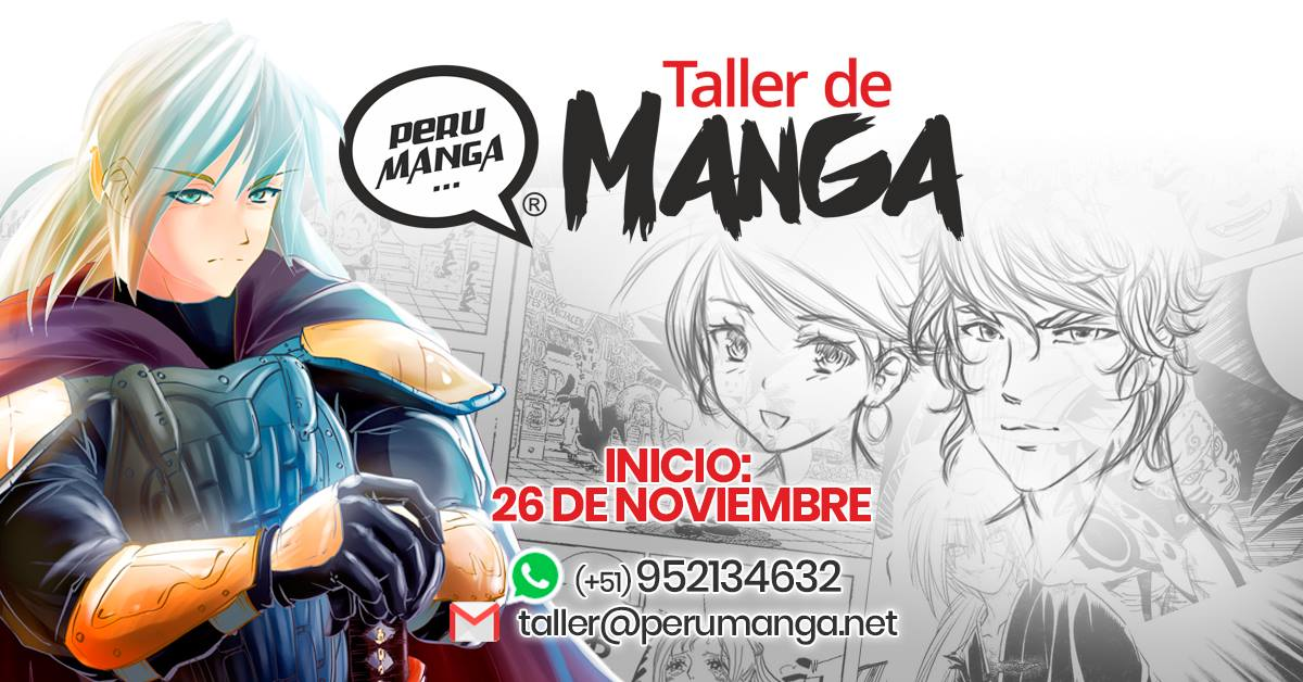 Taller de dibujo manga (anime) Nov.2017 – Domingos