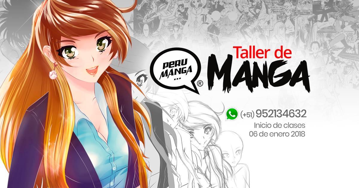 Taller de dibujo manga (anime) Ene.2018 – Sábados