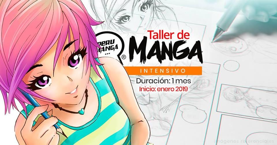 Taller de dibujo Manga (Intensivo) – Enero 2019