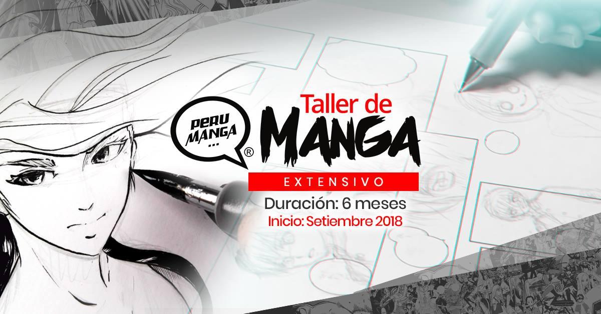 Taller Extensivo de Manga (Anime) – Setiembre 2018
