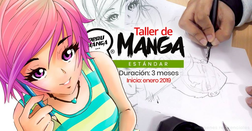 Taller de Manga Estándar Enero 2019