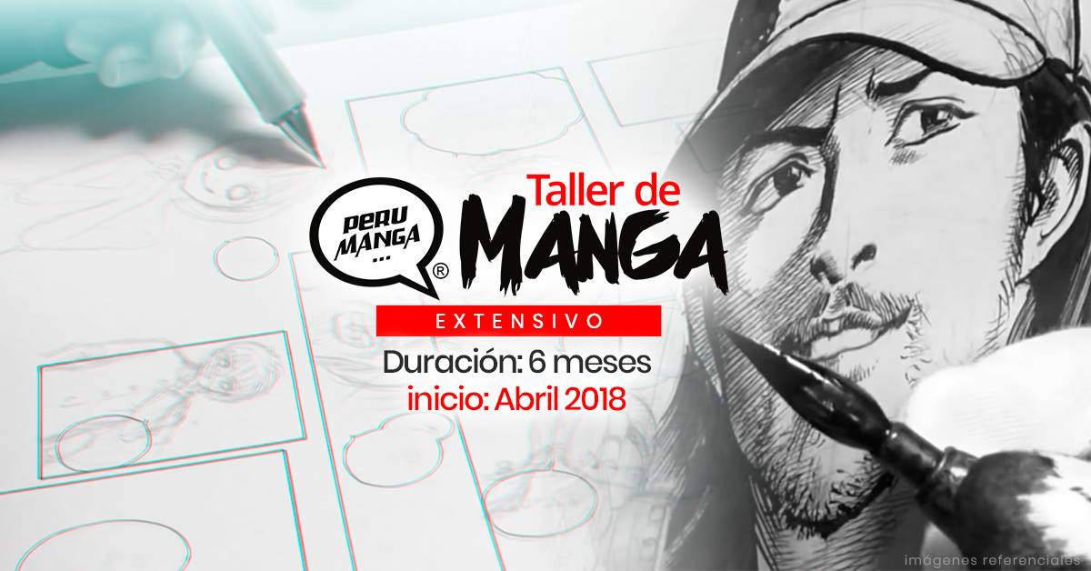 Taller Extensivo de Manga (Anime) – Abril 2018