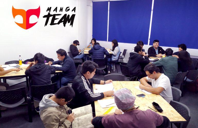 Manga Team, el nuevo proyecto de Perumanga